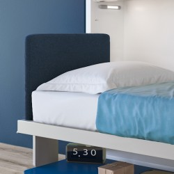 Tête de lit repliable pour...