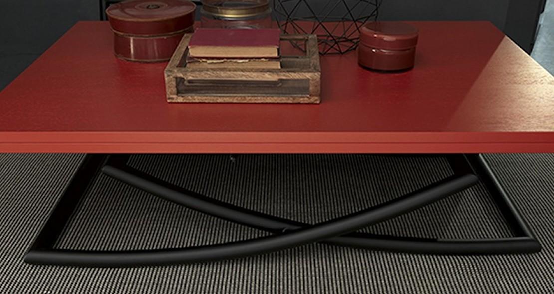 Table de salon à hauteur variable Sakura