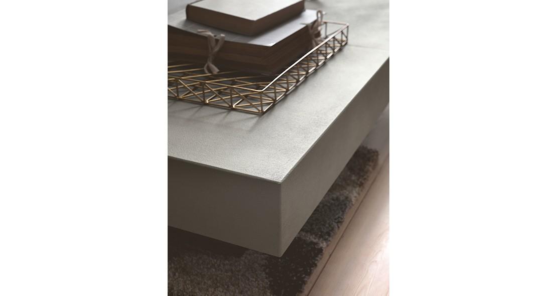 Table à hauteur variable Ulisse avec allonges intégrées