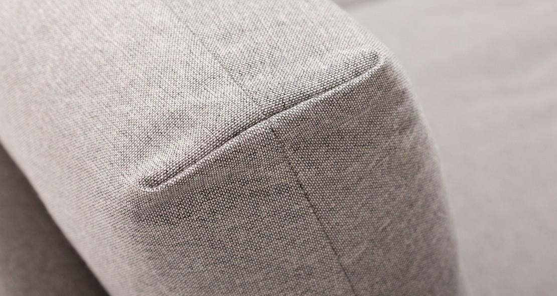 Canapé sofa d'angle en tissu ou cuir