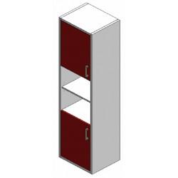 Elément 2 petites portes et...