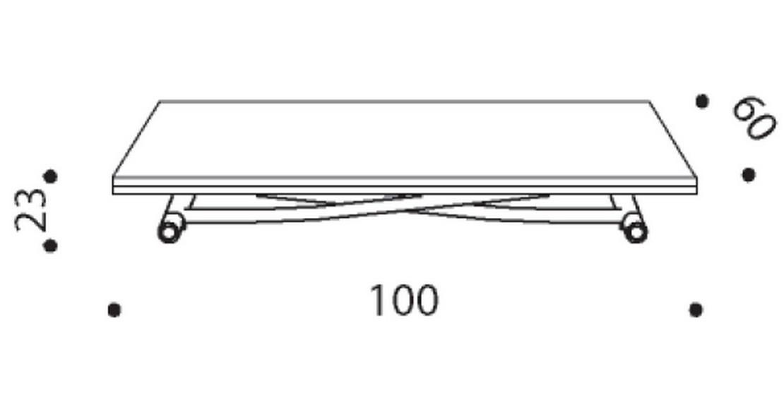 Table à hauteur variable Sydney