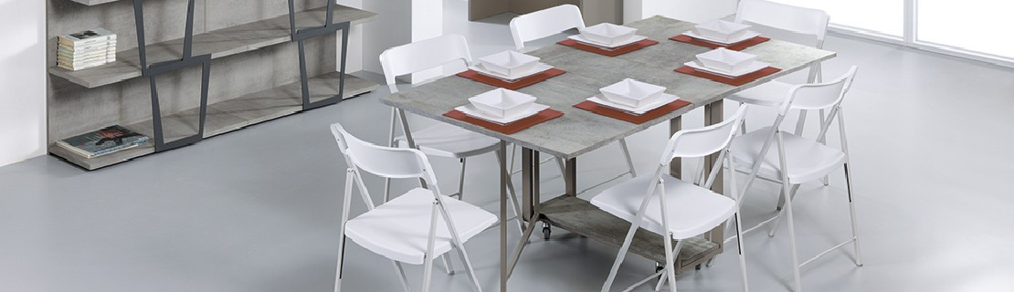 Table Piable ▷ Table pliante idéal pour le gain de place • Antony Deco